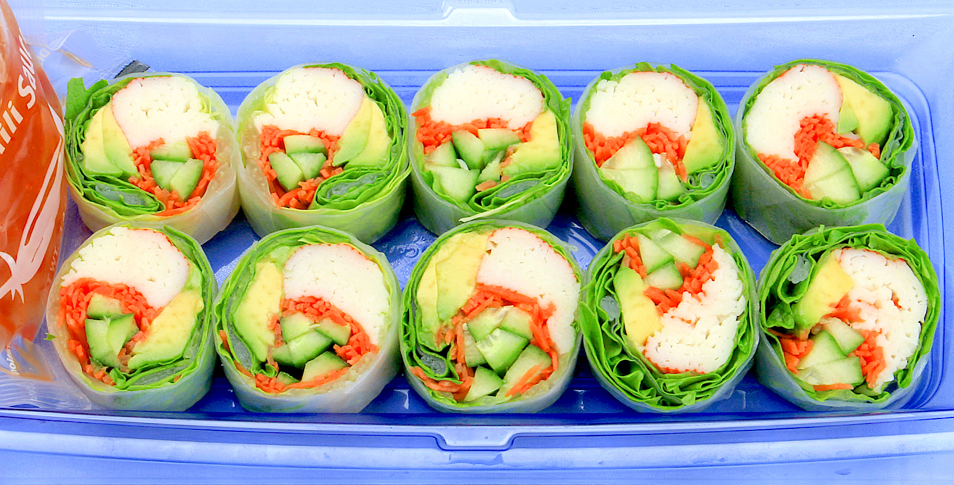 AFC-Sushi California Wrap