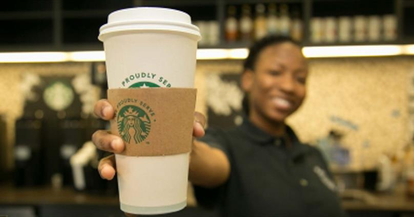 Common  Grounds- We Proudly Serve Starbucks