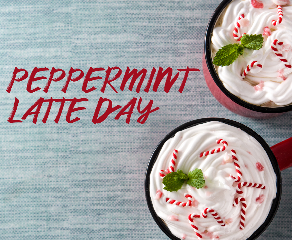 Peppermint Latte Day