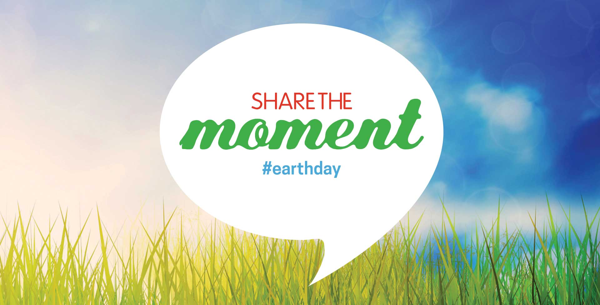 share the moment #earthday