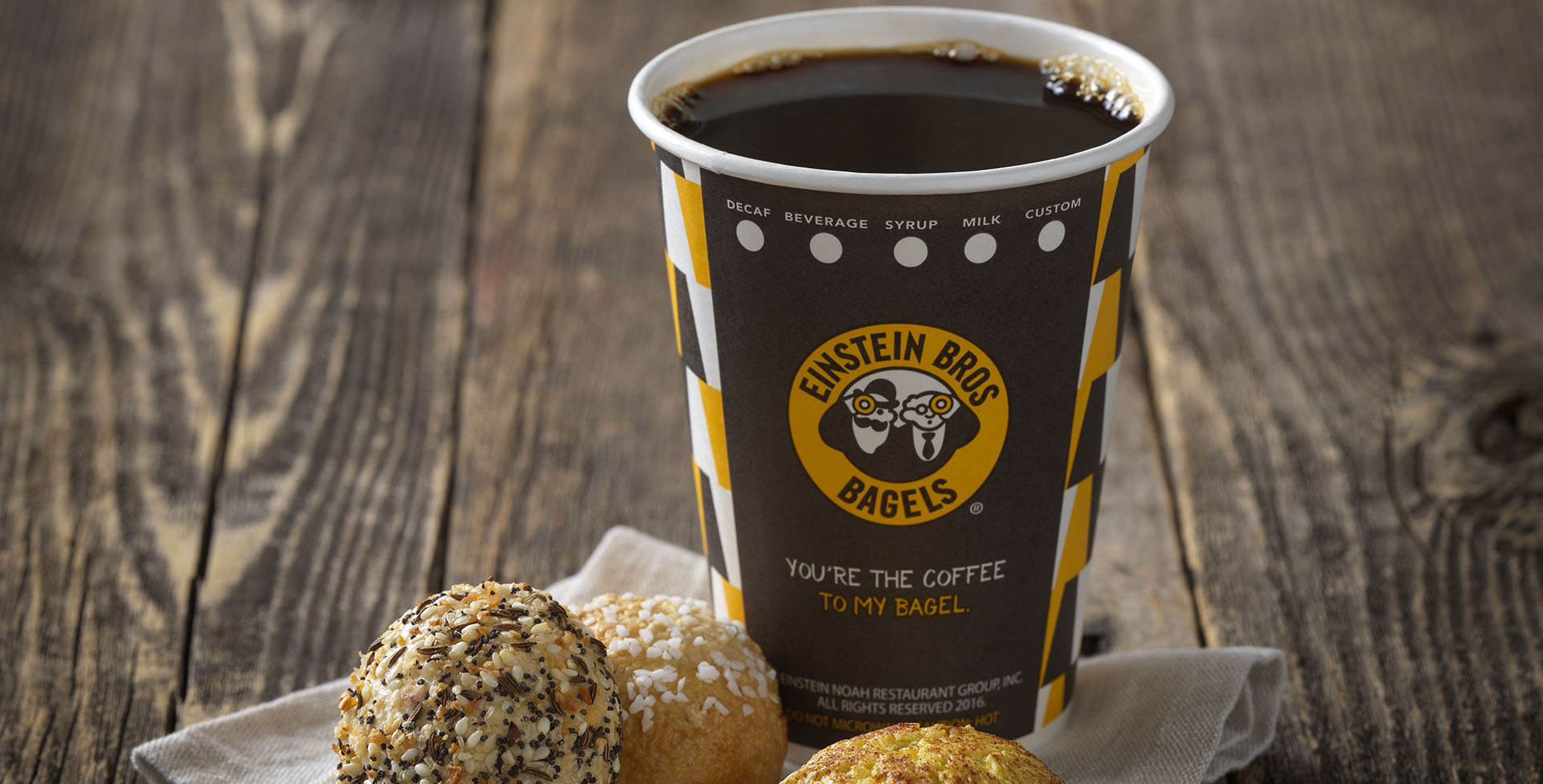 Einstein Bros Bagels Coffee