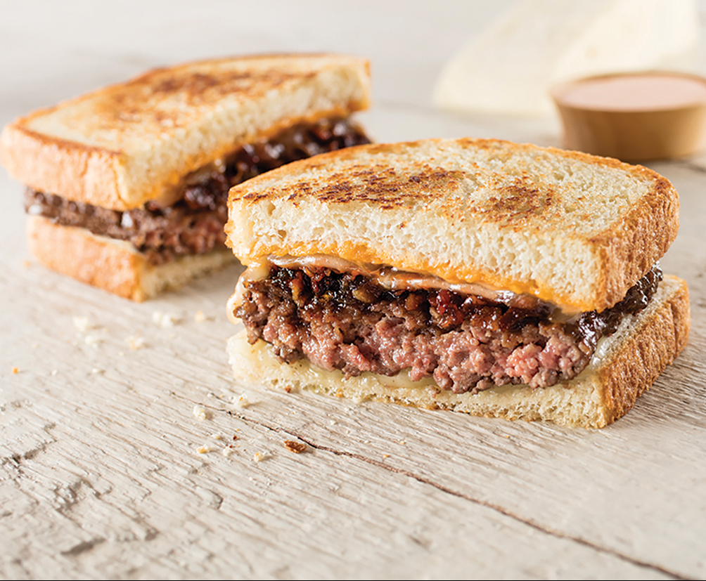Sriracha Patty Melt
