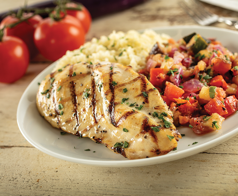 Grilled Chicken Ratatouille
