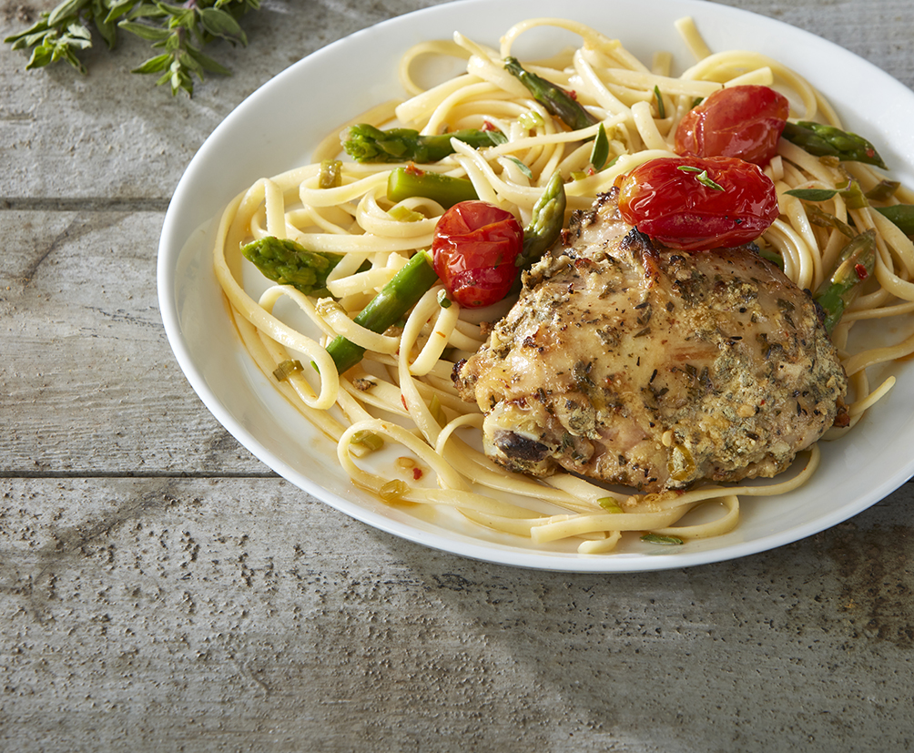 Med Herbed Chicken Linguine