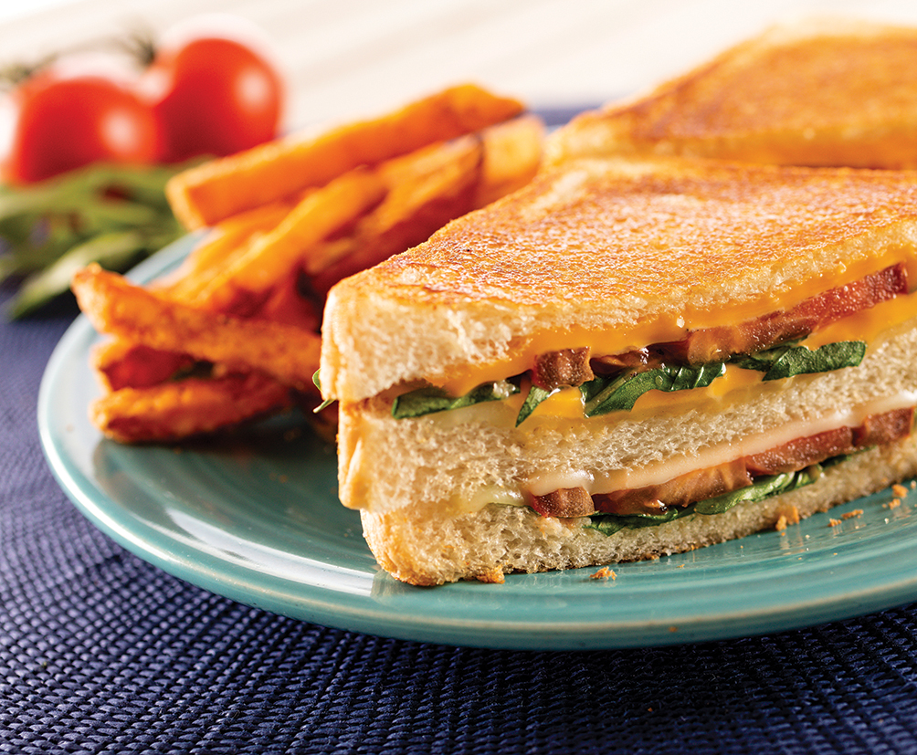Triple Grilled Cheese