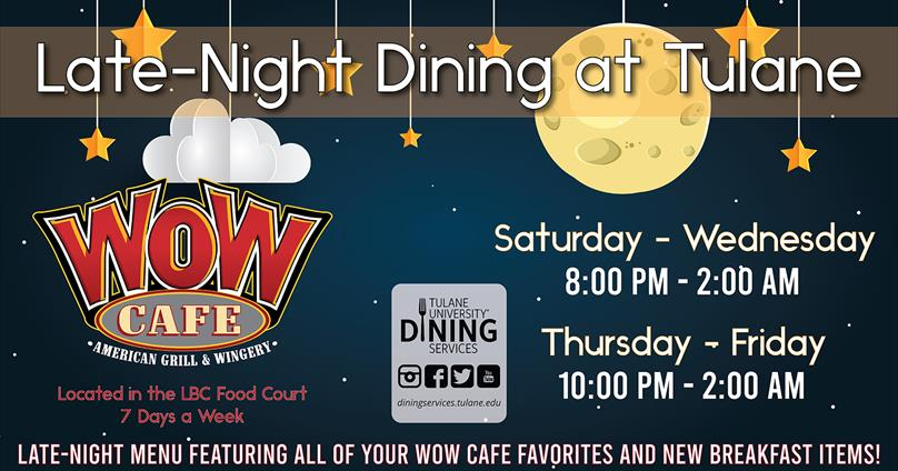 WOW Cafe Late-Night Dining