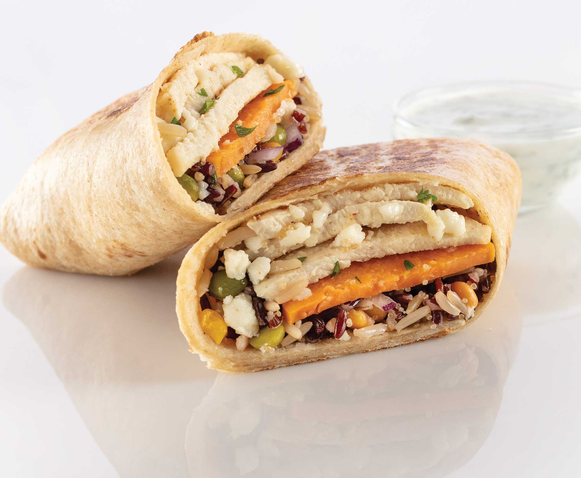 Aztec Chicken Wrap