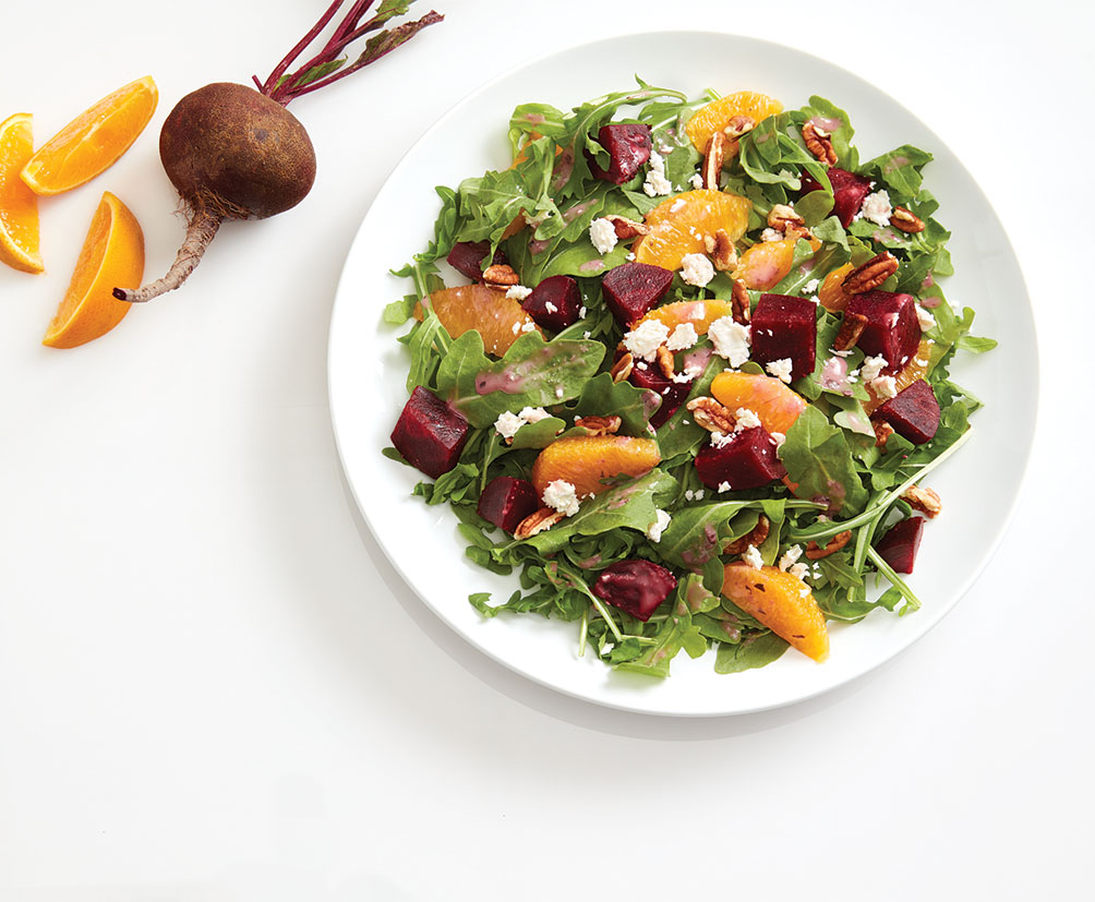 Beet Arugula Orange Salad