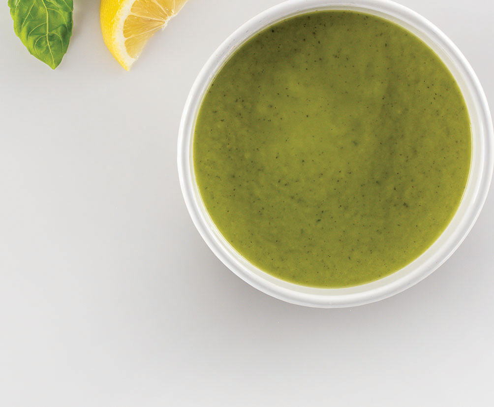 Chilled Zucchini Avocado Soup