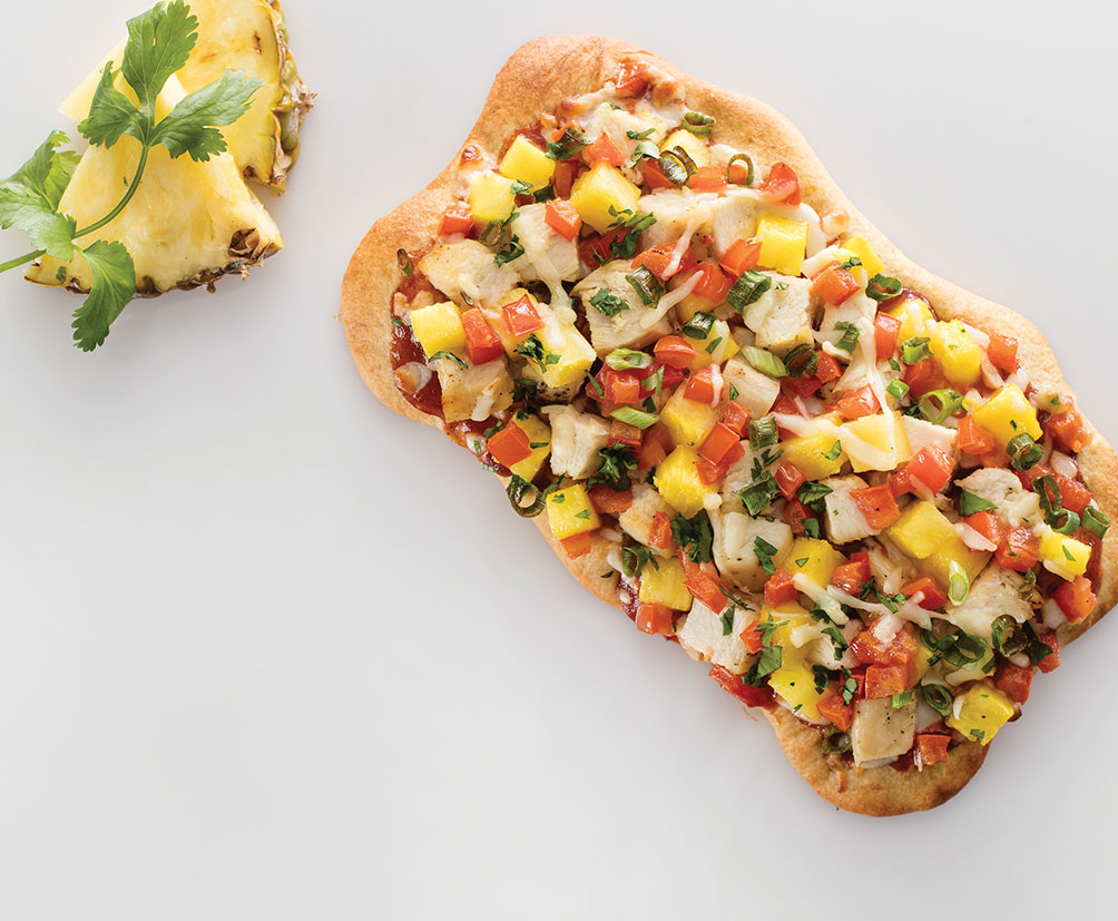 Hawaiian BBQ Chicken Pizzetta
