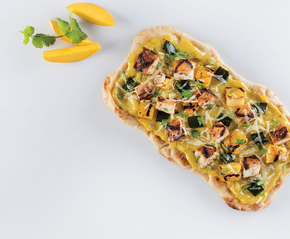 Spicy Chipotle Chicken Pizzetta