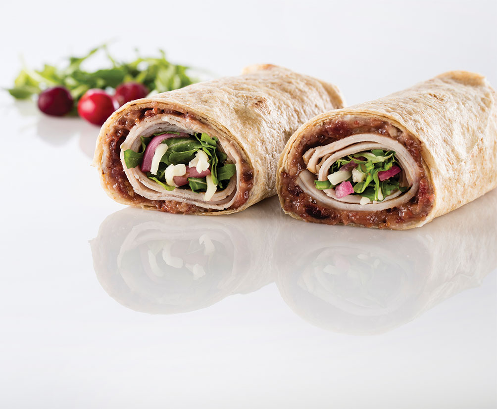 Turkey Mozzarella Wrap