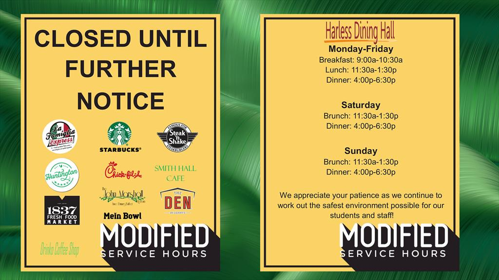 Modified Dining Hours_3242020