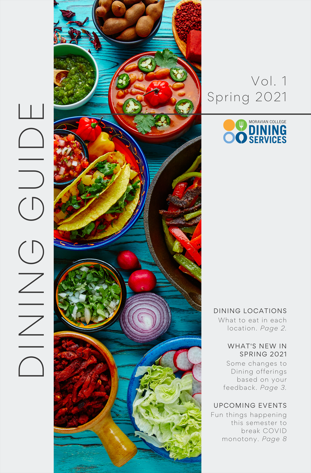 Dining Guide Cover Spring 2021
