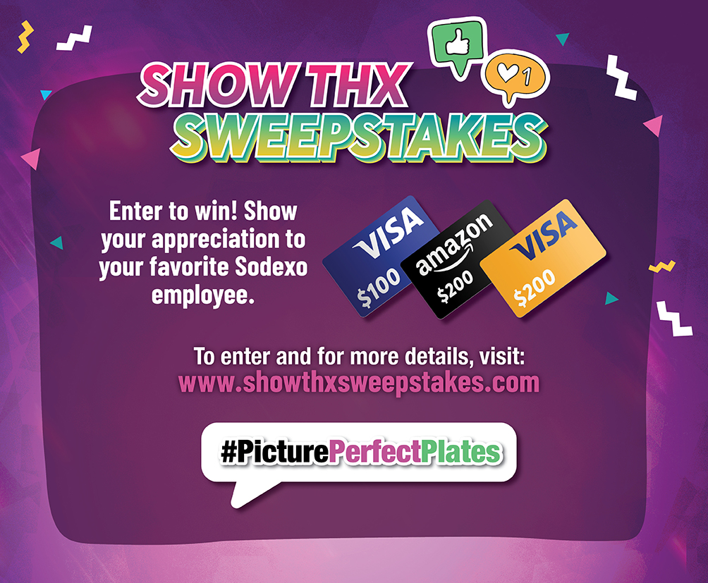 Show thanks sweepstakes