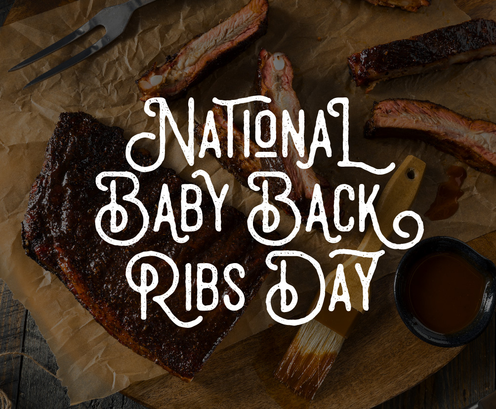 Baby Back Ribs Day