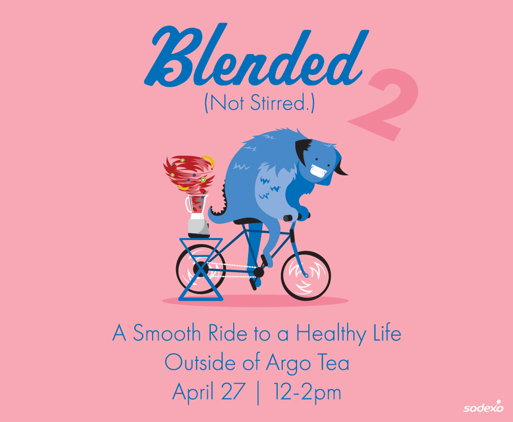 blended not stirred a smooth ride to a healthy life outside of argo tea april 27 2-4