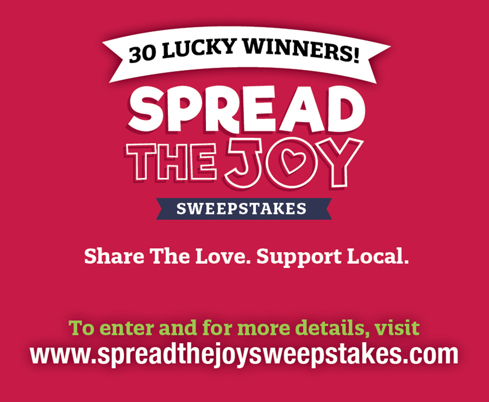 Spread the Joy Sweepstakes