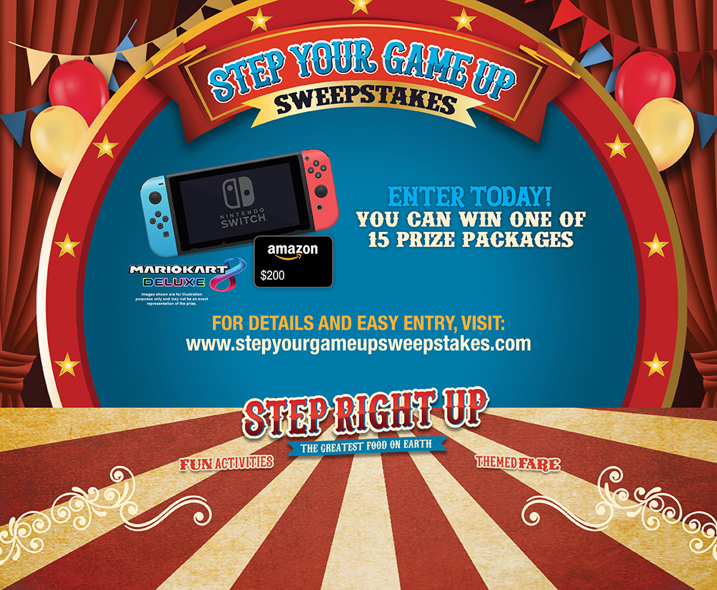 Step Your Game Up Sweepstakes
