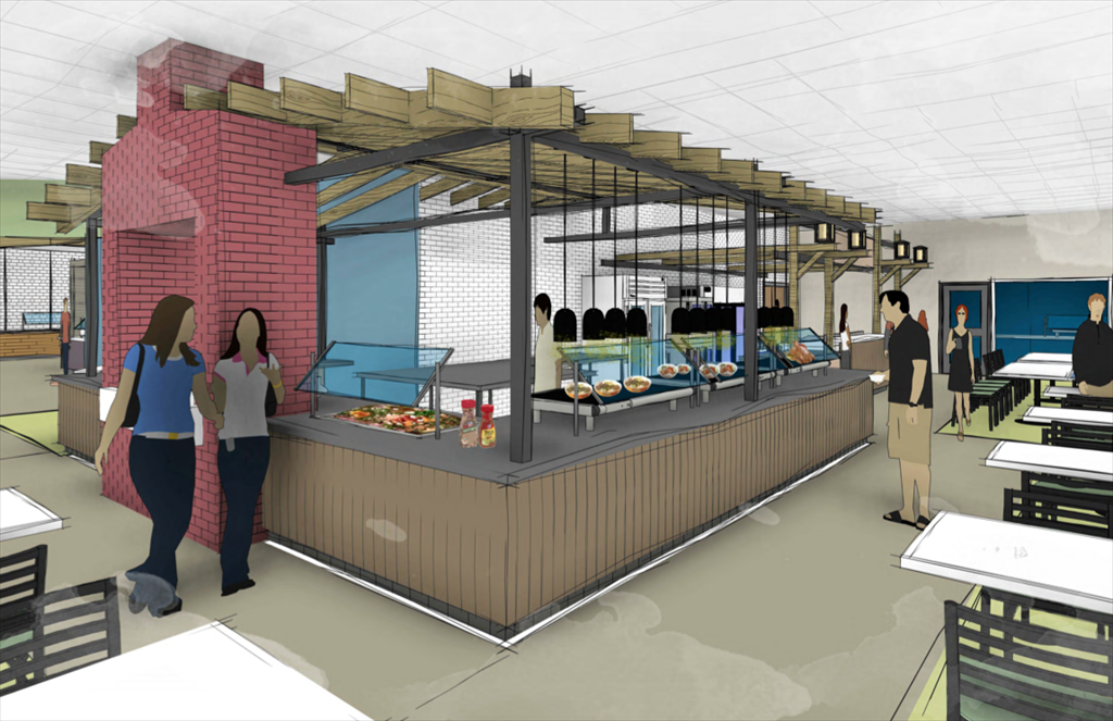 USM Brooks Rendering Street Food and Simple Servings
