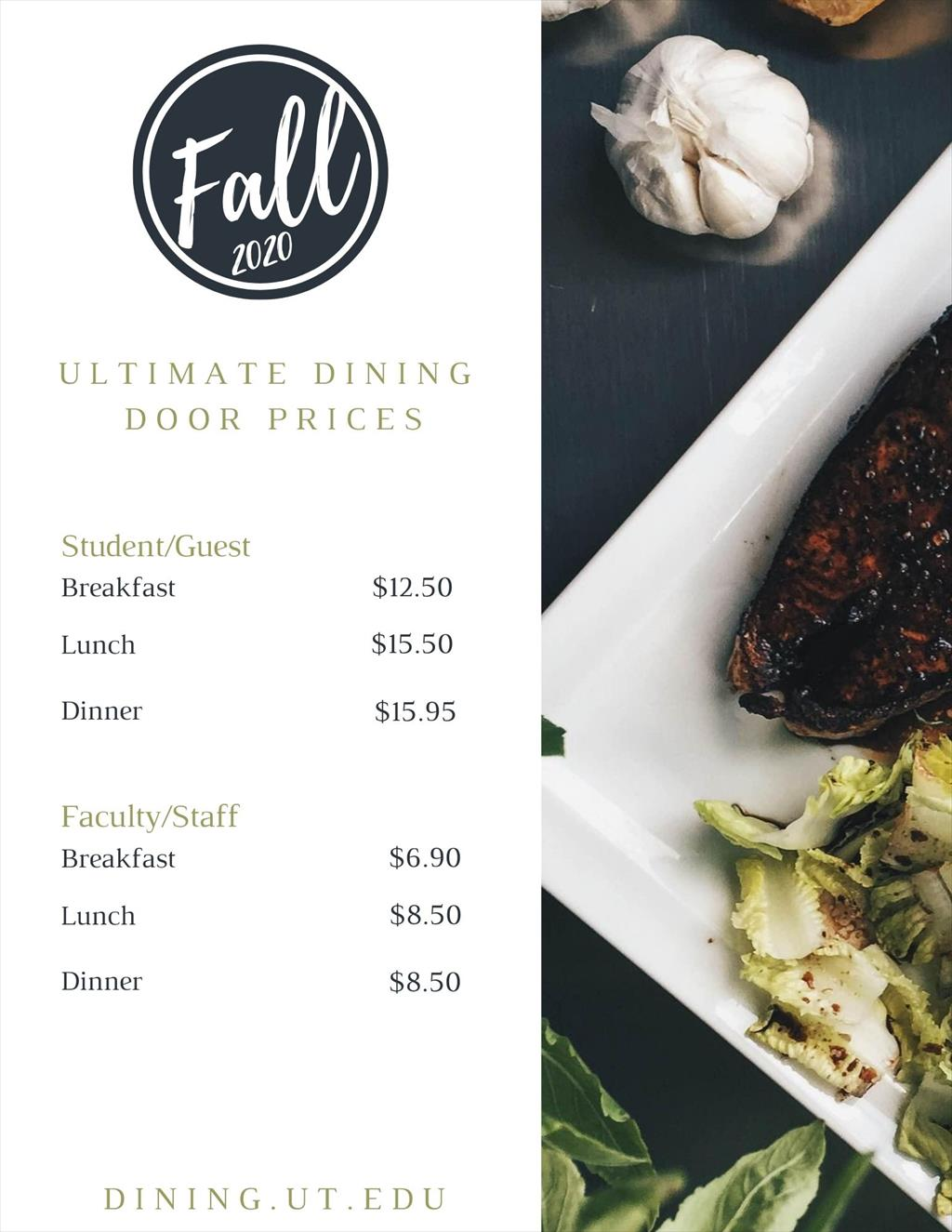 Ultimate Dining Door Prices 2020