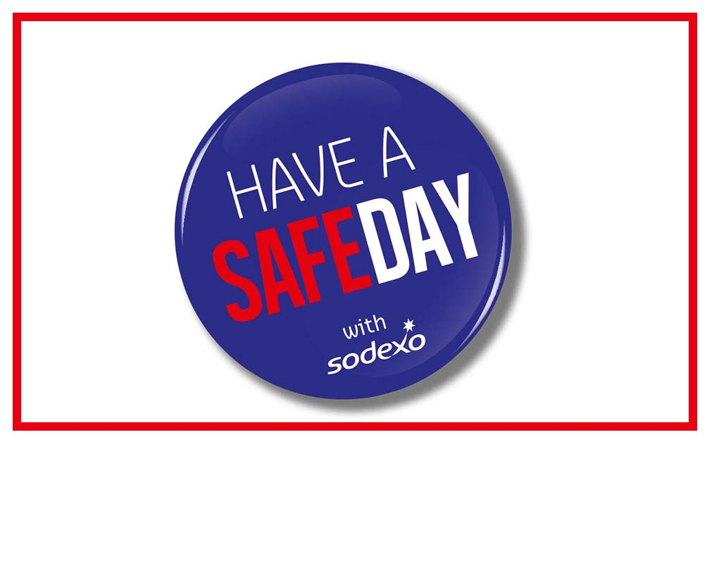 have a safe day with Sodexo