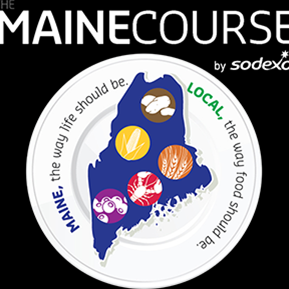 Maine course by sodexo. maine, the way life should be. local, the way food should be.