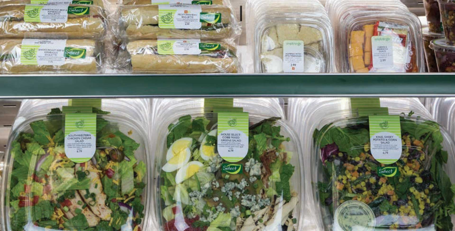 Simply to Go sandwiches and salads